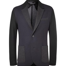 Lanvin - Navy Slim-Fit Virgin Wool-Blend Blazer