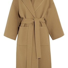 Loewe - Belted wool and cashmere-blend coat