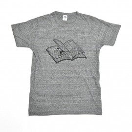 Noritake - MAGAZINE WAVE TEE (gray)