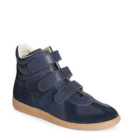 Maison Martin Margiela - Leather High-Top Sneakers