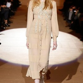 MARC JACOBS - L/S Panel Dress with Bow Sequin Embroidery
