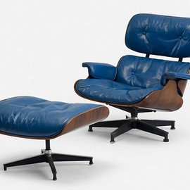 Herman Miller - Lounge Chair Blue Edition