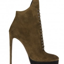 Azzedine Alaia - Low suede boots