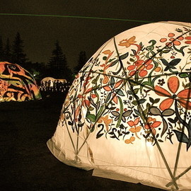 Beautiful camping tents!