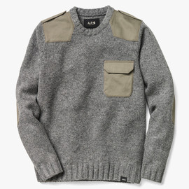 A.P.C × Carhartt - Commando sweater