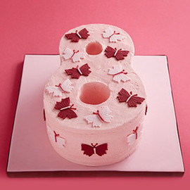 The Hummingbird Bakery - Butterfly Number Cake