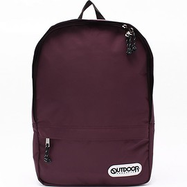 OUTDOOR PRODUCTS - SMIRNASLI(サミールナスリ)の【OUTDOOR】Minimal Day Pack/リュック(バックパック/リュック)|ボルドー