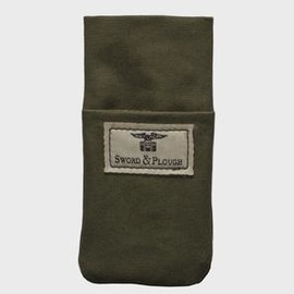 SWORD & PLOUGH - Upcycled Canvas iPhone Sleeve