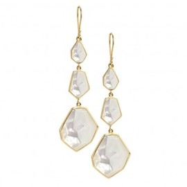 IPPOLITA - Modern Rock Candy® 3-Drop Earrings in Mother of Pearl