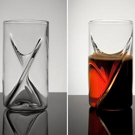 The Pretentious Beer Glass Company - Dual Beer Glass
