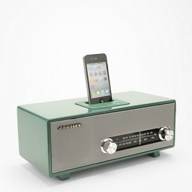CROSLEY - mid-century radio design iPhone/iPod dock