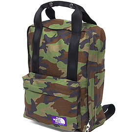 THE NORTH FACE PURPLE LABEL - Camouflage Print 2Way Day Pack