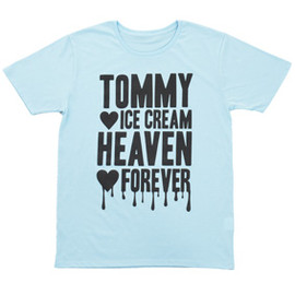 Tommy heavenly6 TOMMY ICE CREAM HEAVEN BIG Tee(BABY BLUE/BLACK)