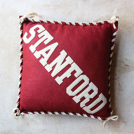 "VINTAGE  MASCOT CUSHION - 40's ""STANFORD UNIV"" MASCOT CUSHION"