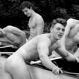 warwick rowing men naked calendar 2014 - Canoeing