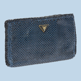 PRADA - clutch bag blue