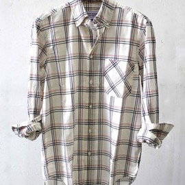ADAM KIMMEL x Carhartt - 2012SS Long Collar Shirt