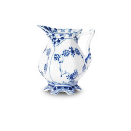 Royal Copenhagen - Blue Fluted Full Lace/ Cream jug