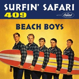 The Beach Boys - 1962 Picture Sleeve for 45 SURFIN SAFARI/409