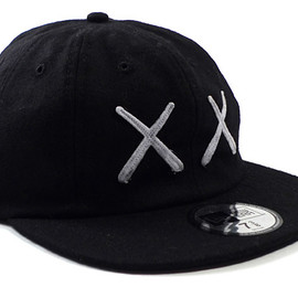 Original Fake,Kaws - OriginalFake x New Era 8-Panel Wool Cap