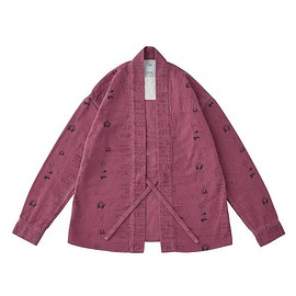 visvim - LHAMO SHIRT purple