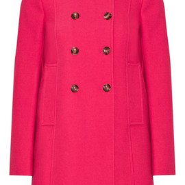 RED Valentino - SS2015 Stretch cotton-blend coat