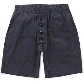 Albam - Camouflage-Print Shell-Ripstop Shorts
