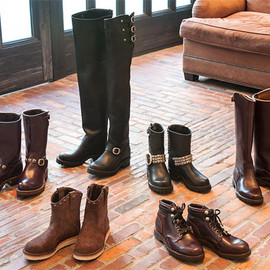 CHROME HEARTS - WESCO BOOTS Custom Order Show