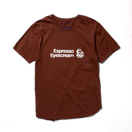 nonnative, EYESCREAM.JP - Espresso Eyescream TEE