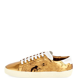 SAINT LAURENT - Court Classic Star Low-Top Sneaker