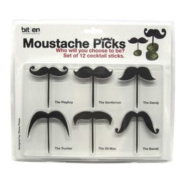 Moustache Picks