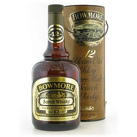 BOWMORE - BOWMORE 12 Year Old Brown bottle