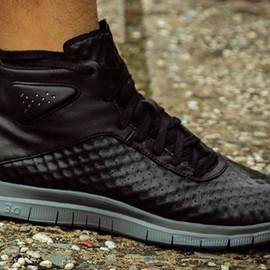 Nike - Free Chukka Leather (Sample) - Black/Grey