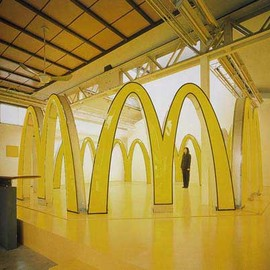 "Masato Nakamura - ""QSC+mV/V.V"" 2001 / Installation Japan Pavillion, 49th Venice Biennale / (R)McDonald's Corporation"