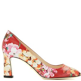 GUCCI - Resort 2016 Printed leather pumps