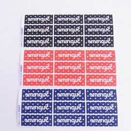 Supreme - Supreme x COMME des GARCONS SHIRT MINI BOX LOGO STICKER