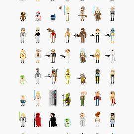 8-bit Movie Characters