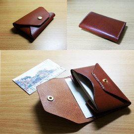 L.works reon - Leather Visiting card case