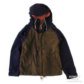 GO WEST - ARMORED JACKET / BROWN/NAVY