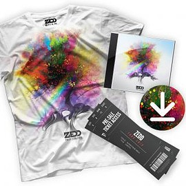 ZEDD - TRUE COLORS CD + T-SHIRT