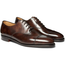 JOHN LOBB - City II Leather Oxford Shoes