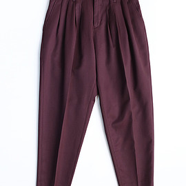 SHAREEF - WIDE TAPERED PANTS WIN
