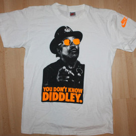 Nike - You Don't Know Diddley Tee - White/Orange