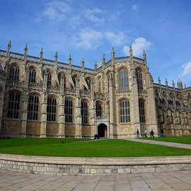 UK - St. Georges Chapel, Windsor Castle