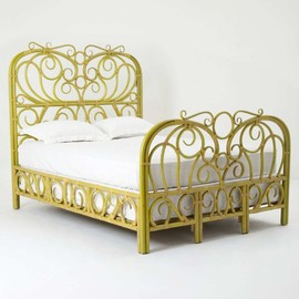 Anthropologie - Radana Rattan Bed