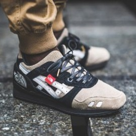"""ASICS Meets The North Face - """"The Apex"""" GEL-Lyte III Custom"""