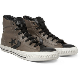 Converse - ConverseStar Player Leather Mid Top Sneakers