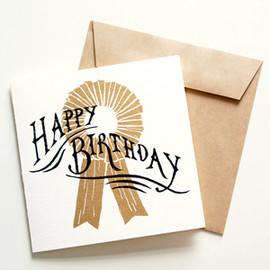 Number 62 - Gift Card - HAPPY BIRTHDAY