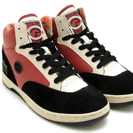 AIRWALK - ENIGMA MIKE VALLELY WHITE/BLACK/RED 2012SS