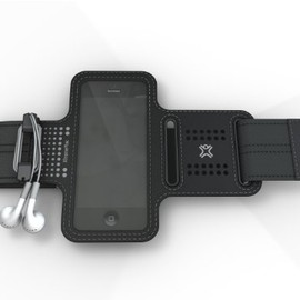 XtremeMAc - iPhone5/4S/4/3G/3GS/iPod touch対応 軽量スポーツアームバンド